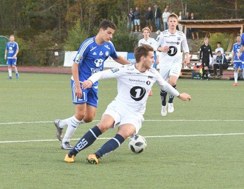 MÅLSCORER: Sami Loulanti og Oppsal var klart best mot Kristiansund. For Sami ble det med ett mål.