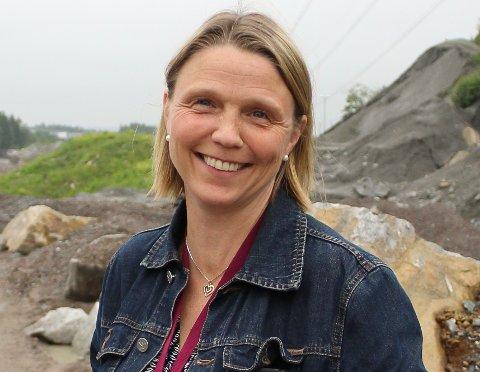 GLEDER SEG:  Camilla Hille ( V) gleder seg til å ta fatt på oppgaven som utvalgsleder for oppvekst, idrett og kultur.