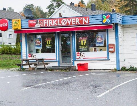 KJØPT HER: Mannen kjøpte Extra-kupongen sin her ved Firkløver'n kiosk i Frankendalsveien. Arkivfoto: Tonje E Skjørtvedt