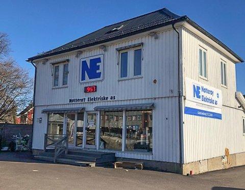 NY BUTIKK: I disse lokalene på Borgheim, vil det til sommeren være nye fjes å finne.