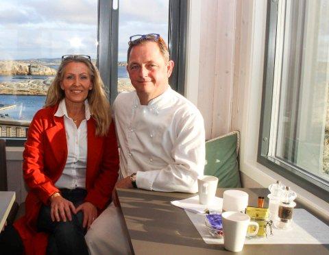 May-Lis og Remi Hallvig eier restauranten på Verdens Ende.. Denne påsken holder de stengt.