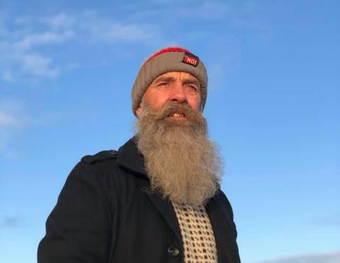 FORSVUNNET: Øystein Kjøll er på søken etter sin drone, som er av merket Kayoba. Den ble sist sett i retning Degernes over Dottetorp, Berger og Støles.