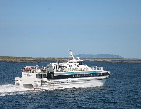Fylket vil redusere kostnadene for kaileie og anløp for hurtigbåter på Helgeland.