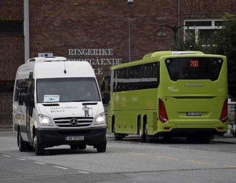 Flybussen får ikke støtte fra Buskerud fylkeskommune kommende år.