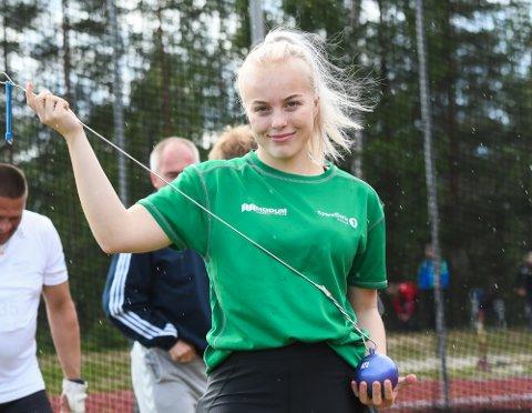 KLARTE IKKE EM KRAVET: Helle Henriksen Hvidsten vant i Sverige, men kastet litt for kort.