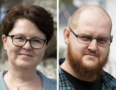 Marianne Sundvor og Fredrik Hole Halvorsen. Foto: Kristine Ristesund