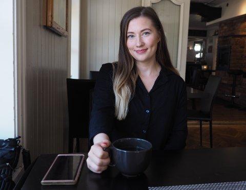 SOSIAL PLATTFORM: Josefine Marstad har startet ny sosial plattform for kvinner i Sande og Holmestrand.