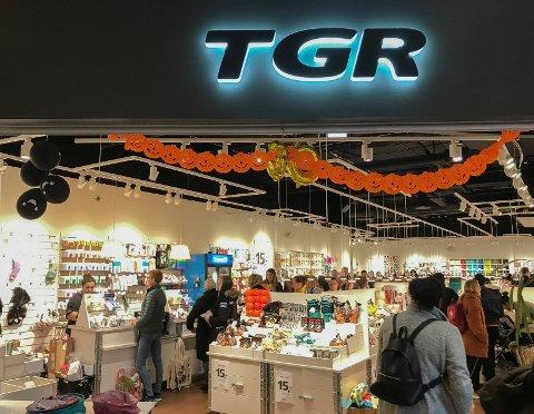 STENGT: Flying Tiger Copenhagen, tidligere TGR, i Storbyen kjøpesenter er stengt for godt.