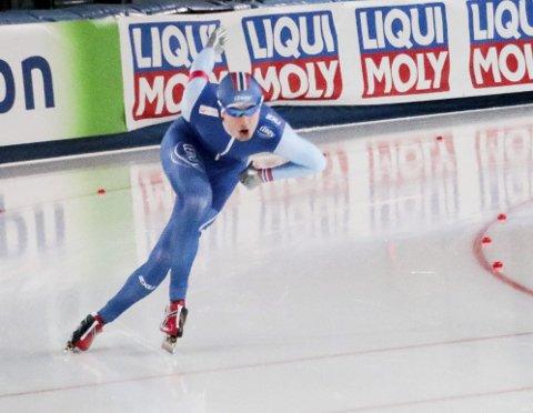 EGEN LOMME: Jørgen Sæves er tatt ut til sprint-VM på skøyter, men Norges Skøyteforbund har ikke råd til å betale turen selv. Pengene må han ordne selv.