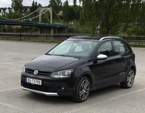 Solbergs bil, en VW Polo Cross, ble stjålet natt til 15. juli. Nå får hun den tilbake.