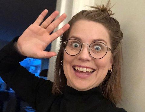Sigrid Velle Dypbukt ser du på NRK1 og NRK Super fredag klokken 18. Da leder hun BlimE-showet.