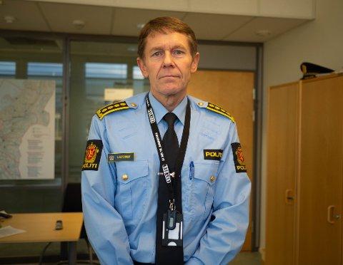 ETTERFORSKER: Arve Nordtvedt, politistasjonssjef i Trondheim.