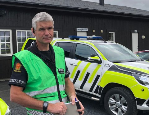 Fagernes: Innsatsleder Bård Sørumshaugen i politiet i Valdres mener Rakfiskfestivalen har vært en suksess også beredskapsmessig.