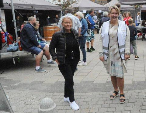 SEPTEMBER: Datoen i 2022 er ikke helt spikret ennå, men det blir i september, forskutterer senterleder Lene Eriksen (t.v.) og prosjektleder Heidi Lyngstad i Rotary.