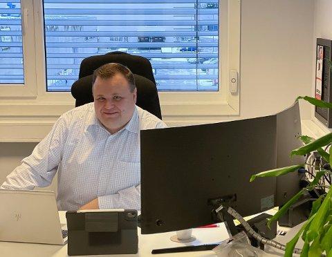 NY STYRELEDER: Thomas Sjøvold er valgt til ny styreleder av Folloregionens Næringsforening.