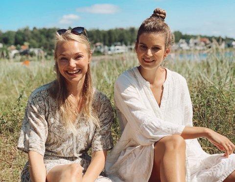 """KREATIVE: Camilla Næsmo og Karoline Mundal står bak instagramkontoen """"lek med mini"""" som skal inspirere til kreativ og morsom lek med små barn."""