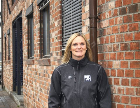 VELDIG BRA: - Vi opplever markedet som veldig bra for tiden, sier daglig leder i WK Entreprenør AS, Britt Røed Lohne.