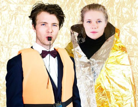 Teater: Karen Houge og David Tann viser utradisjonelt teater på Alværn.
