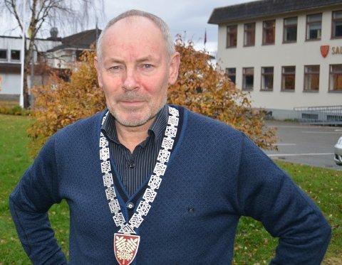 Spesiell tid: Rune Berg ordfører i Saltdal kommune. Det er en tittel han har bært sammen med ordførkjedet de siste fire årene, og får han og Senterpartiet det som de vil kommer han til å fortsette med det også etter valget.