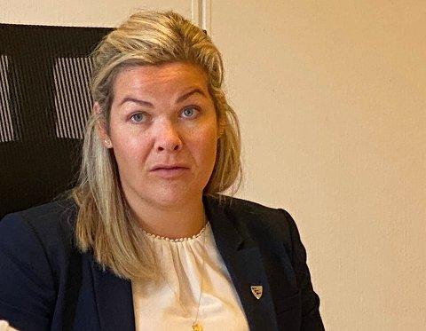 Bekymret: Ordfører Aase Refsnes er bekymret for at det er et mutert koronavirus som er kommet i Steigen.