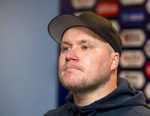 Steffen Landro og Sandnes Ulf kan sende Øygarden ned i 2. divisjon.