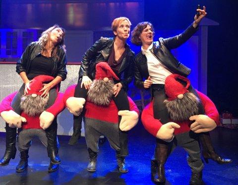 MOT JUL: Drammens Showteater spiller 11 forestillinger i Drammens Teater fra neste uke.
