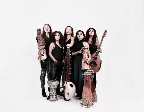 ULOVLEG: The Forbidden Orchestra spelar på instrument som har vore forbodne for kvinner.