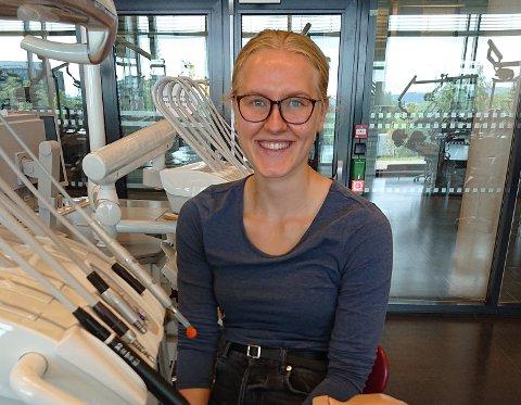 NYTT STUDIE: Karoline Fauske (20) har flytta frå college-livet i USA til tannlegestudiet i Oslo.