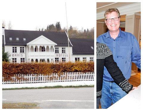 KORTVARIG LUKKE: Eit knapt år rakk Halstein Sjølie å drive Tørvis hotell, før det skar seg. No er han også dømd for grovt bedrageri og svindel.