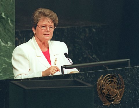 ÆRESDOKTOR: Gro Harlem Brundtland blir æresdoktor ved UIT.