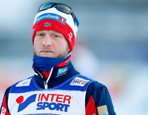 FEMTE GANG: Martin Johnsrud Sundby skal gå Birken for femte gang på lørdag.