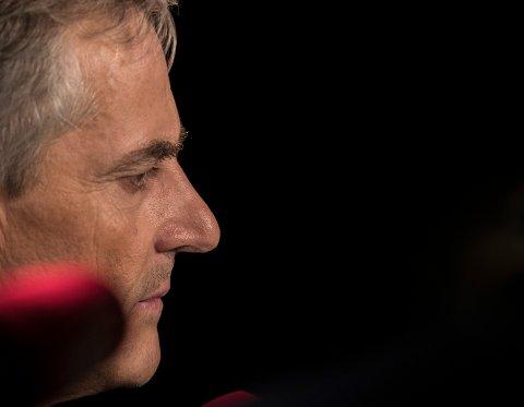 Partileder Jonas Gahr Støre håper på ærlige tilbakemeldinger når Arbeiderpartiets landsstyremøte starter evaluering av valgkampen og valgresultatet tirsdag. Foto: Vidar Ruud / NTB scanpix