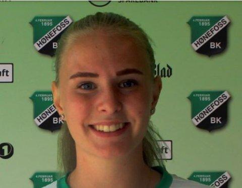 NY KLUBB: Ingrid Molden går fra Hadeland KFK til Hønefoss BK i 1. divisjon.