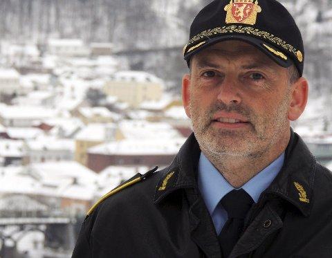 UTESERVERING: Nærpolitisjef Tore Løwengreen mener det kan komme mer støy av å begrense åpningstidene.
