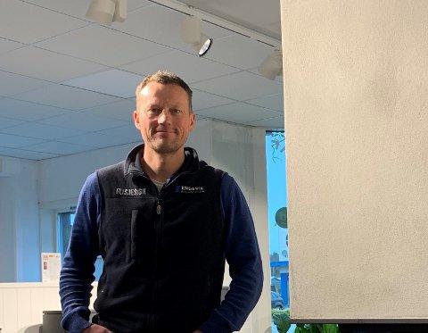 ANSETTER FLERE: Engevik Byggsenter AS og daglig leder Stian Engevik kjøper opp Raglamyr-butikk.