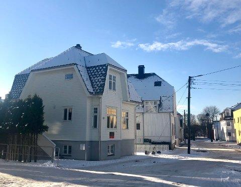 HELT NY: Åsbygata 17 i Haugesund stod ferdig bygget i desember 2020.