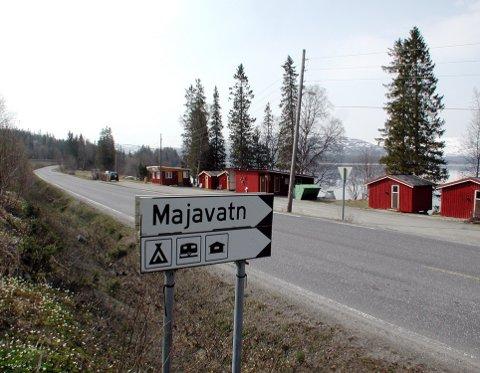 Camping før: Tidligere var det camping her. Nå kan det bli mulig å kjøpe hytte her. foto: alf vesterbekkmo