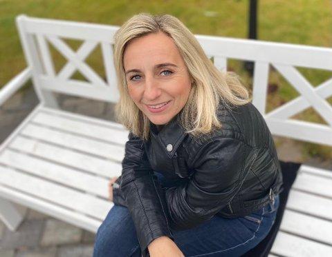 BYTTER JOBB: Linda Ingier har hatt sin siste dag i jobben hun har holdt i 13 år. Nå er hun klar for nye utfordringer.