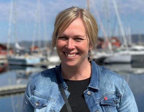 Sande-ordfører Elin G. Weggesrud.
