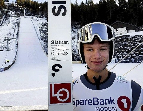 Tok begge rennene: Ole Kristian Baarset gledet seg til helgas to renn, og han gjorde rent bord. Foto: Svein Halvor Moe