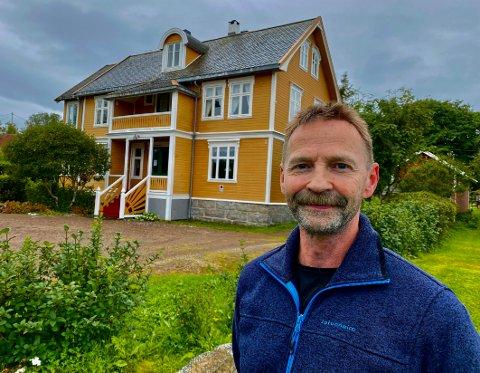 Hotelleier: Tore Nilsen er sammen med kona Ingrid blitt hotelleier, men vil drive annerledes enn de forrige eierne gjorde.