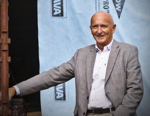 Mye som skjer: Søren Fredrik Voie leder arbeidet i Vestvågøy næringsforum.Foto: Arkiv
