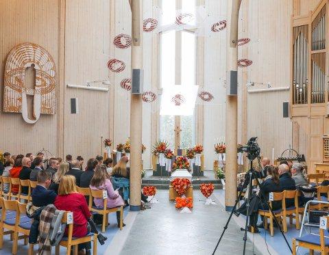 Robin Lie Sørensen omkom i en rasulykke i mai 2021. I dag, fredag 14. mai, ble han bisatt i Grønnåsen kirke i en vakker seremoni.
