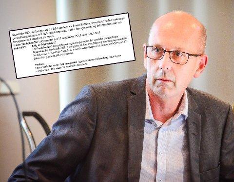 Ordfører Ola Nordal (Ap) orienterte kommunestyet i Ås om det skjulte eiendomssalget i Myrveien 17. Innfelt et utdrag fra redegjørelsen han mottok fra Åspro.