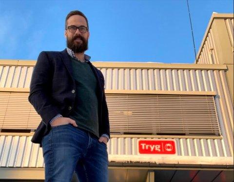 VOKSER: Audun Mangelrød startet for et halvt år siden et nytt selskap og skal ha ti ansatte det første året.