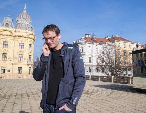 Landslagssjef Christian Berge venter i spenning på VM-trekningen. Foto: Vidar Ruud / NTB scanpix