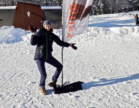Aktivitetsleder Lene Ingdal var fornøyd med oppslutningen på aktivitetene i vinterferie. - Det er stort behov for dette tilbudet, sier hun.
