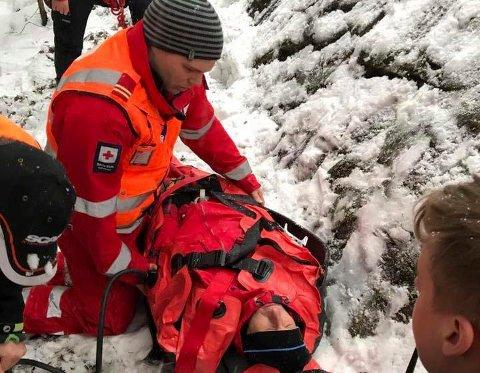 Røde Kors er klare til å rykke ut i påsken. Torsdag og fredag er de på Løvlia, mens de er på Tosseviksetra lørdag og søndag.