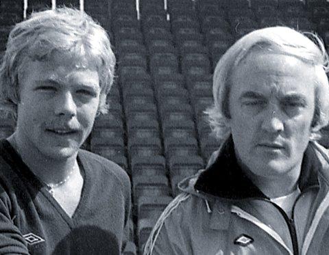 DEN FØRSTE: Nederlandske Boudewijn de Geer ble for 39 år siden hentet av LSK under trener Joe Hooley. Han ble klubbens første utenlandske spiller. FOTO: TORE SANNUM