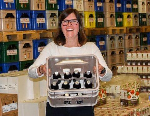 Daglig leder Astrid Lier Rømuld er veldig fornøyd etter at det ser ut til at sukkeravgiften reduseres.